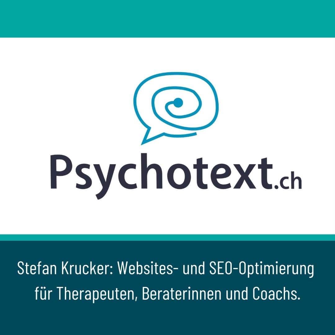 Psychotext Stefan Krucker Logo